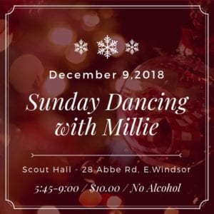 Steps & Sounds - Dance With Millie - December 9 - 2018