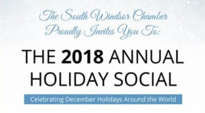 South Windsor Chamber of Commerce Holiday Social 2018 @ Maneeley's Lodge | South Windsor | Connecticut | United States