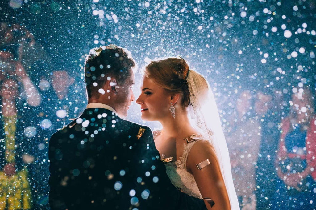 Steps and Sounds - Connecticut wedding dj - bridal couple - first dance