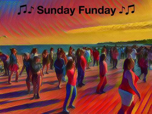 sunday funday - music on the beach