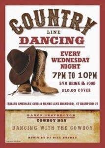 dance with cowboy - branford - wednesday