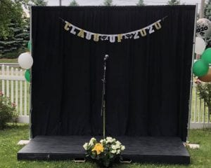 Steps and Sounds - Personal Graduation Ceremony - The stage is set 01